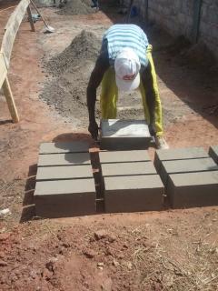 Bauarbeiten Kiga Niaguis
