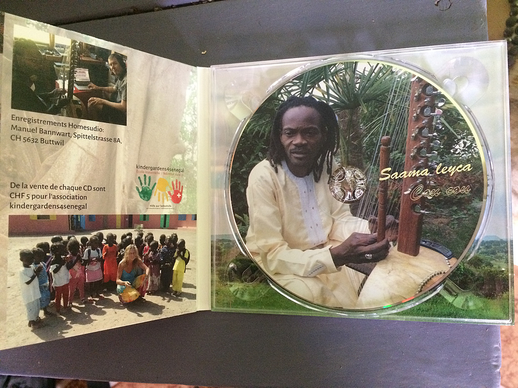 Cd from Elhadji Dieme, Senegal